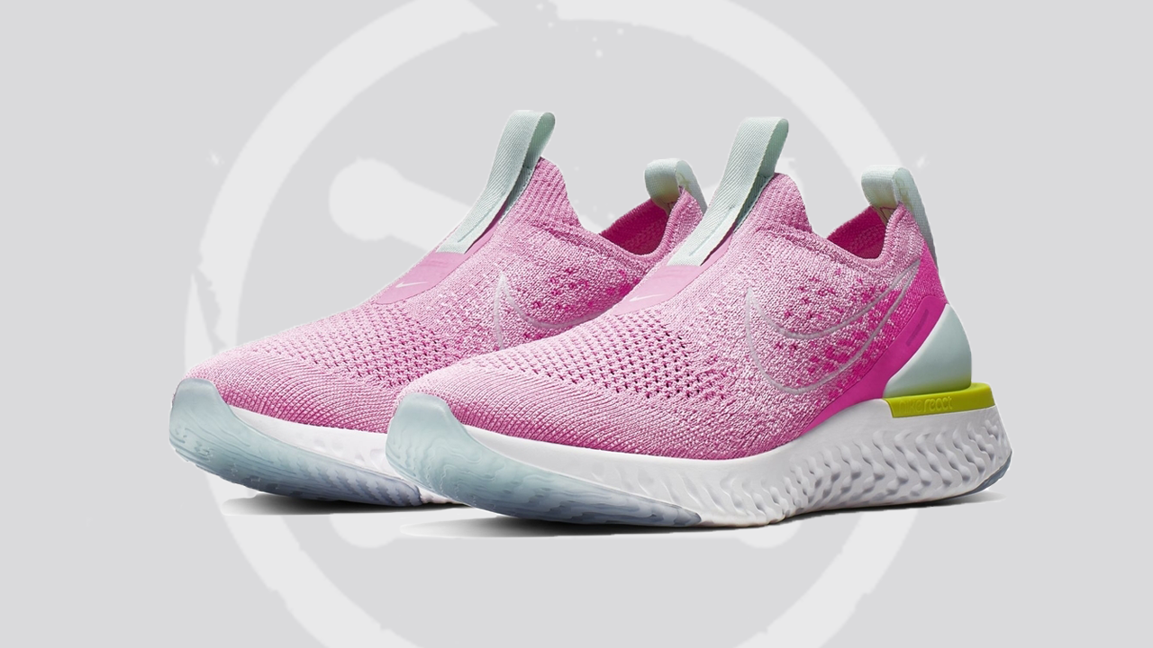 Nike Epic Phantom React Flyknit Pink