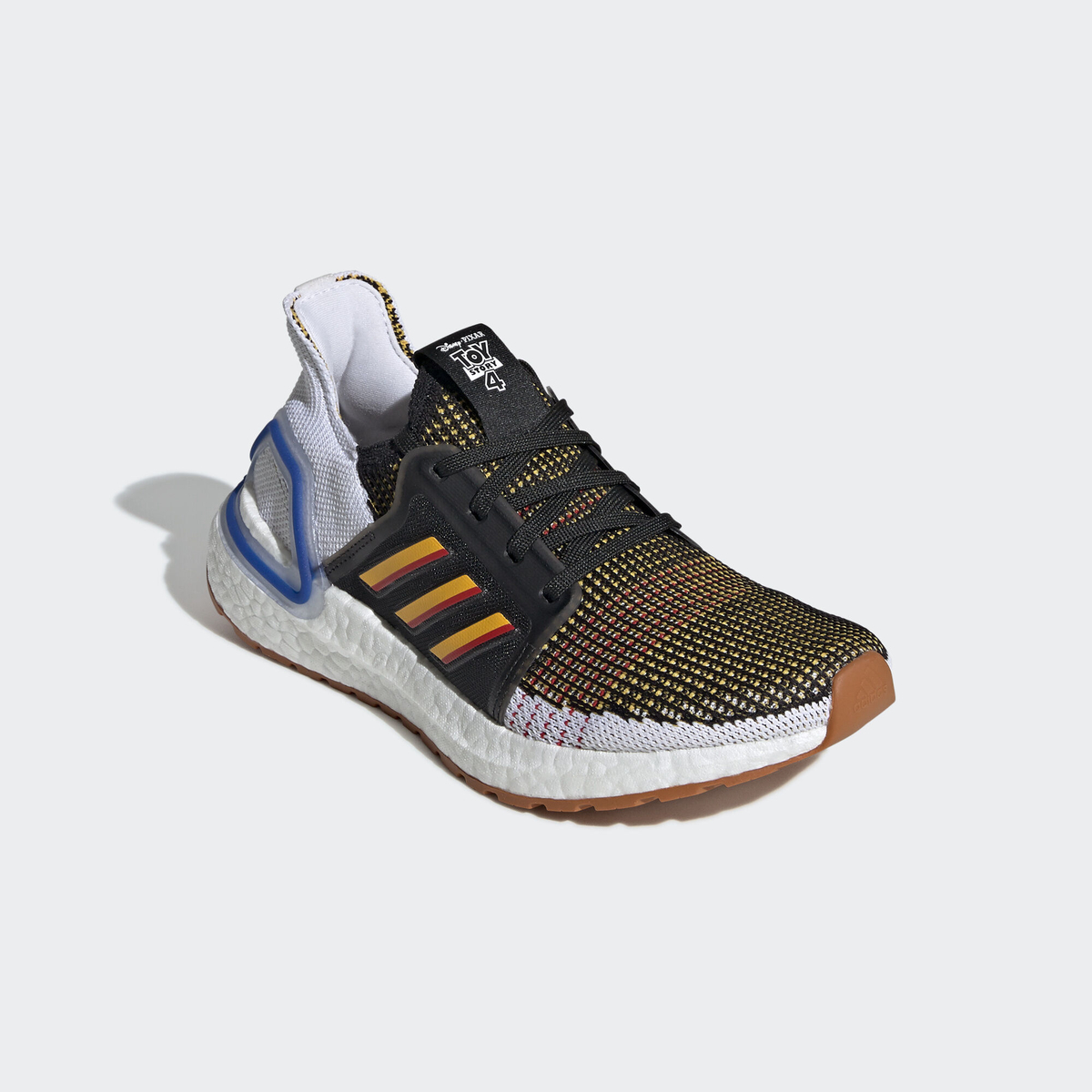 ADIDAS ULTRA BOOST 19 KIDS TOY STORY 4 CORE BLACK : ACTIVE GOLD : SCARLET 1