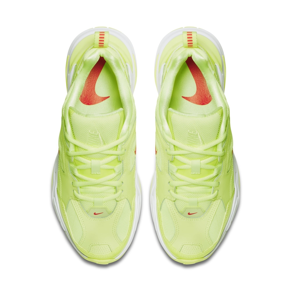 NIKE M2K TEKNO BARELY VOLT:WHITE:RED ORBIT 2
