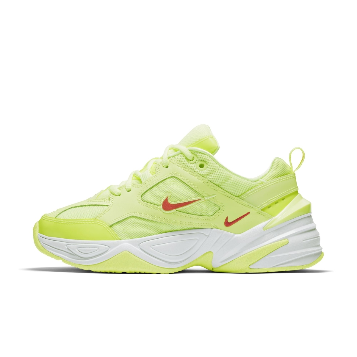 NIKE M2K TEKNO BARELY VOLT:WHITE:RED ORBIT 3