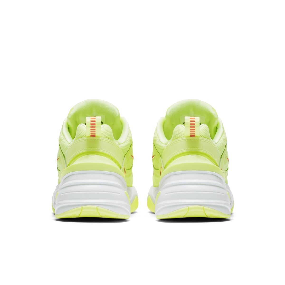 NIKE M2K TEKNO BARELY VOLT:WHITE:RED ORBIT 4