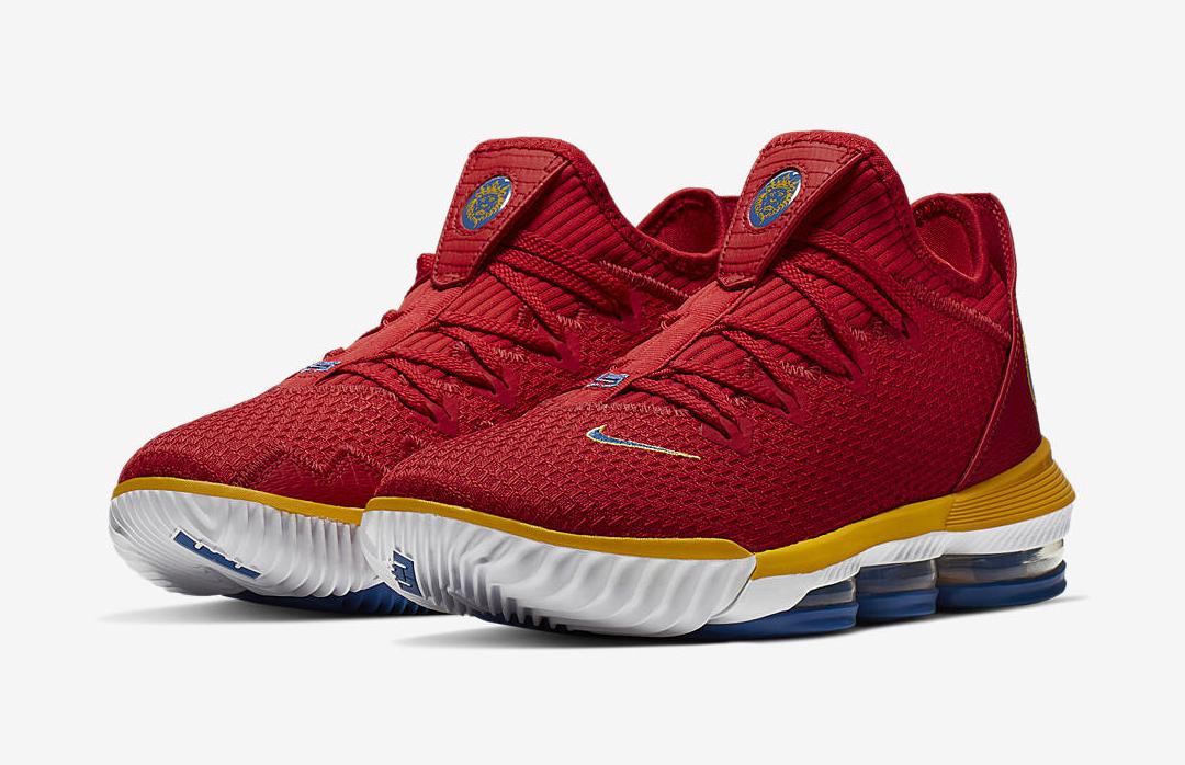 Nike LeBron 16 Low 'University Red