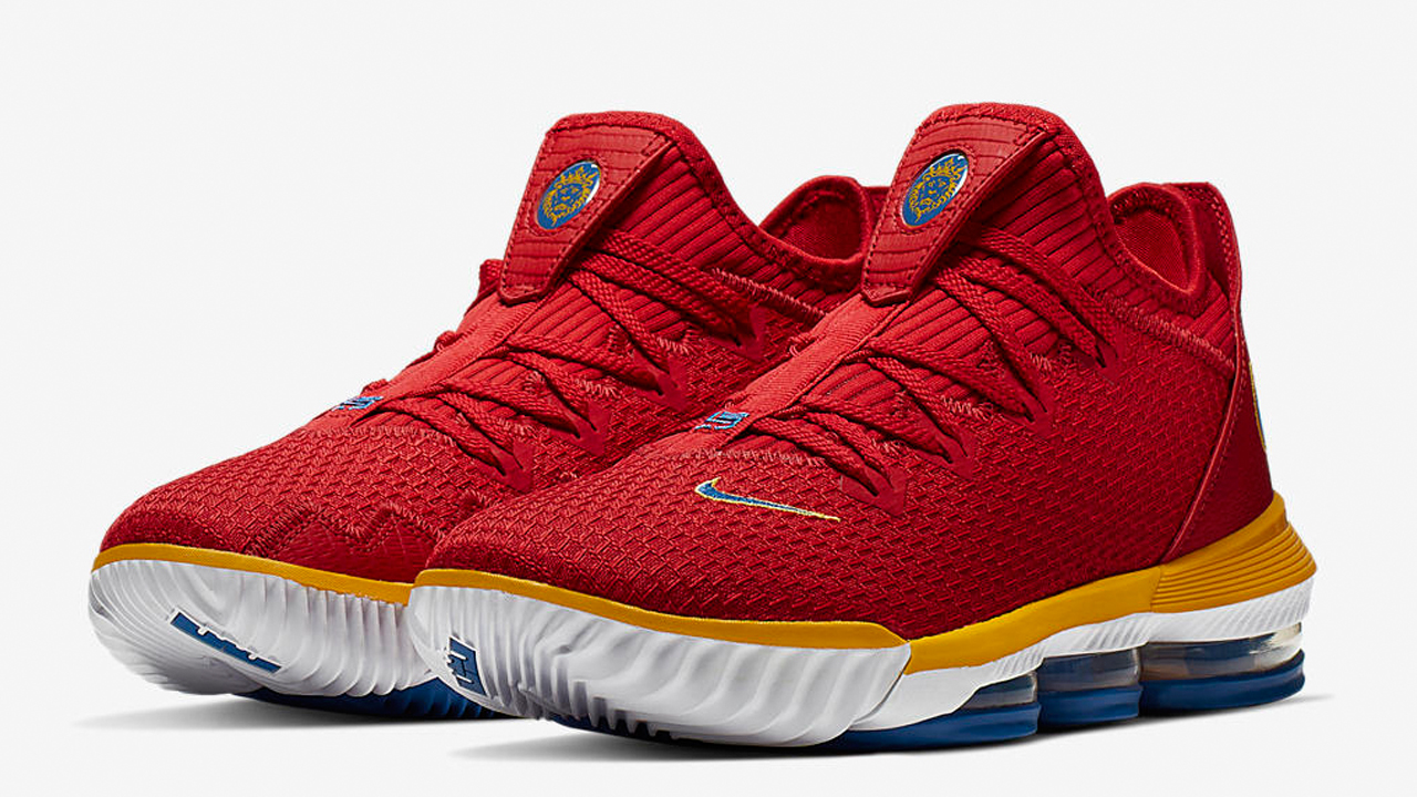 Nike-LeBron-16-Low-University-Red