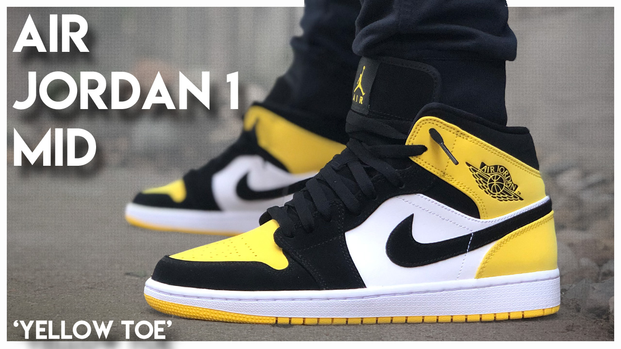incredible prices excellent quality new collection Air Jordan 1 Mid 'Yellow Toe' | Detailed Look and Review ...