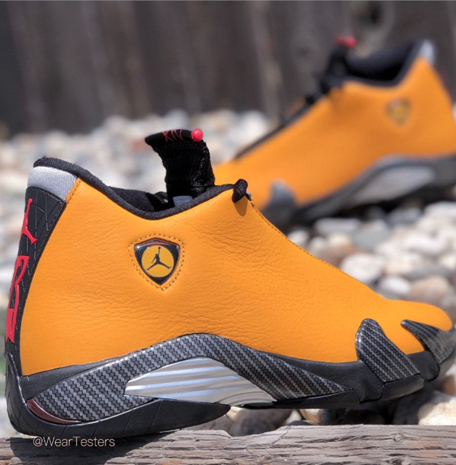 premium selection 6666a 73d54 Air Jordan 14 'Reverse Ferrari' | Detailed Look and Review ...