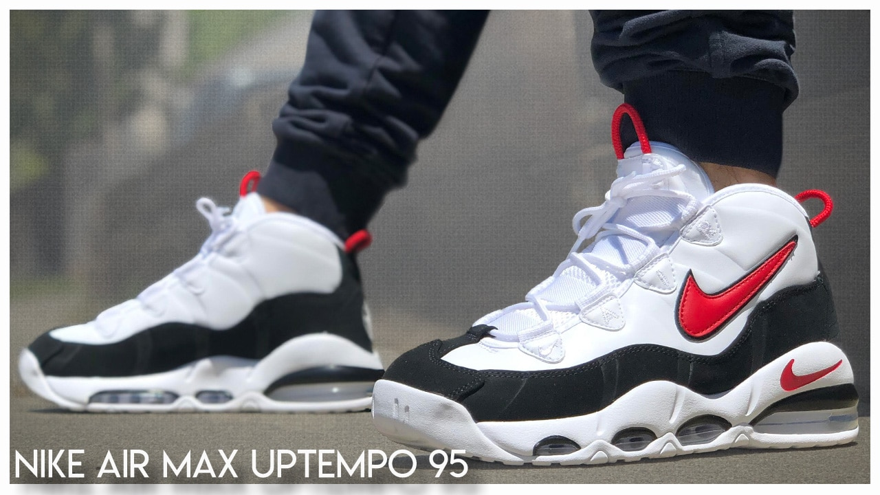 pétalo Cervecería Lada  Nike Air Max Uptempo 95 'Chicago' | Detailed Look and Review - WearTesters