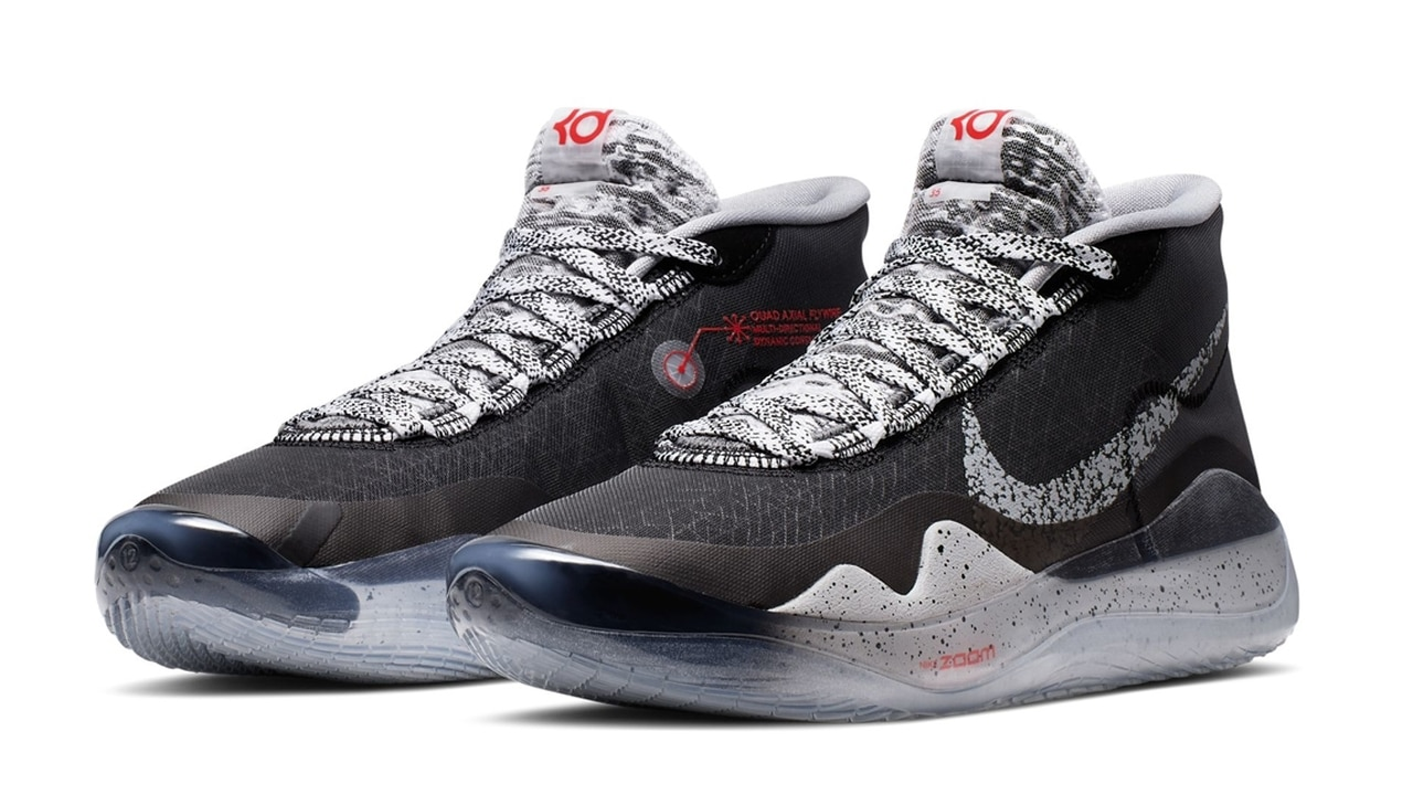 Nike KD 12 in 'Black/Cement