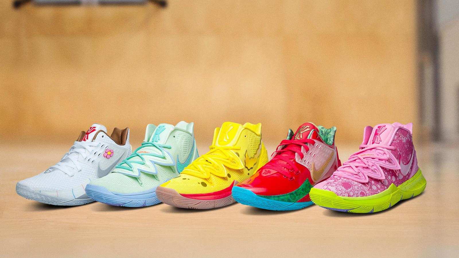 Nike Unveils Kyrie x SpongeBob