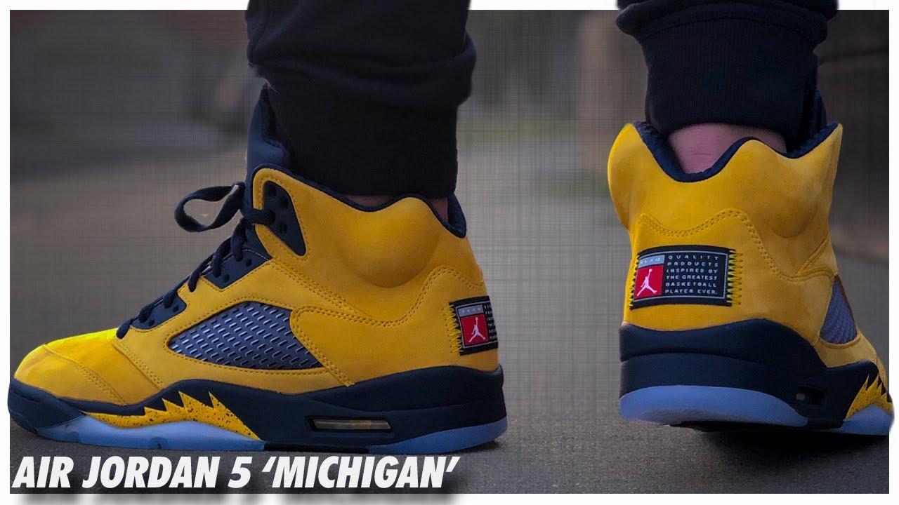 Air-Jordan-5-SE-Michigan-Review