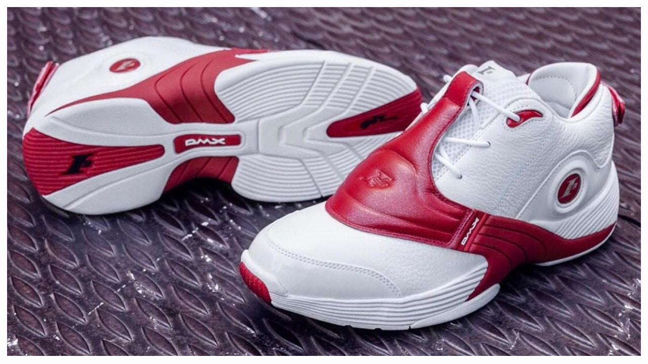 The Reebok Answer 5 Retro in WhiteRed is Available Now