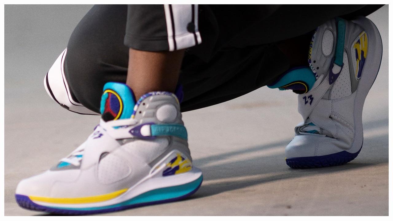 NikeCourt Modifies the Air Jordan 8 for
