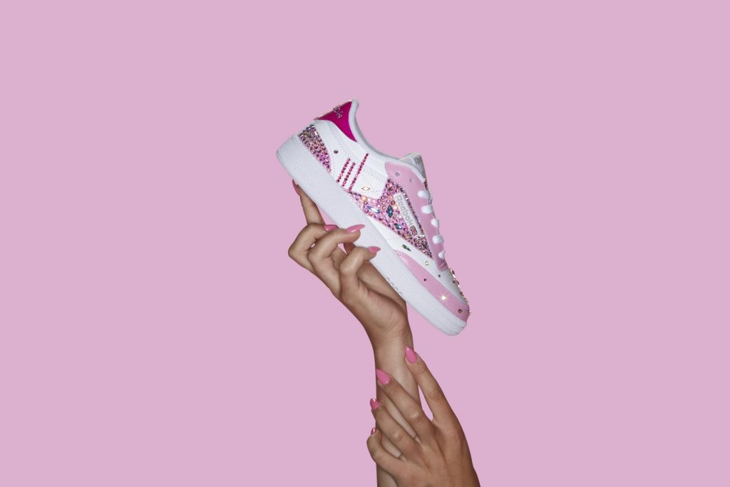Exclusive Reebok Club C Release pointed down