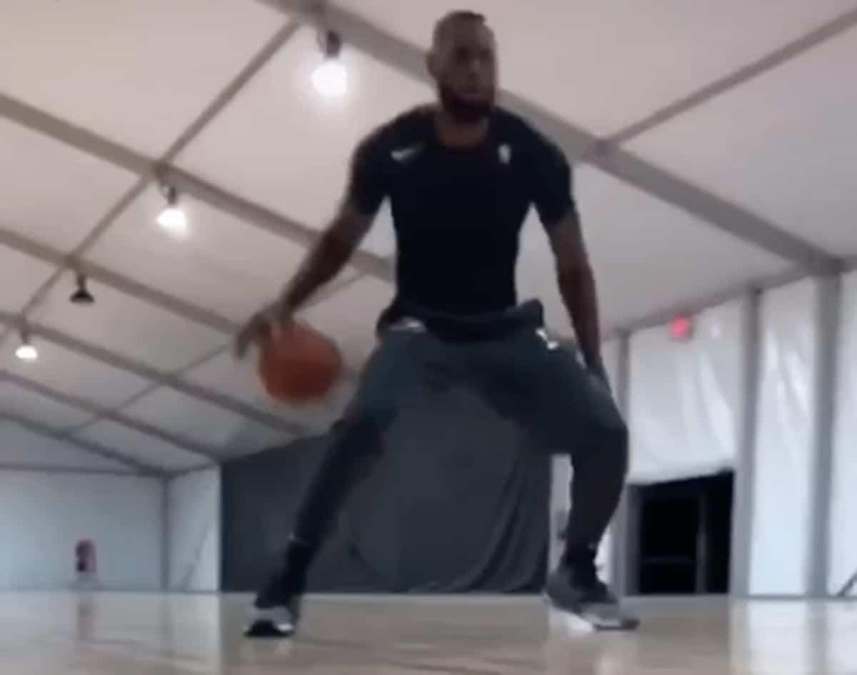 LeBron James Takes to Instagram to Show