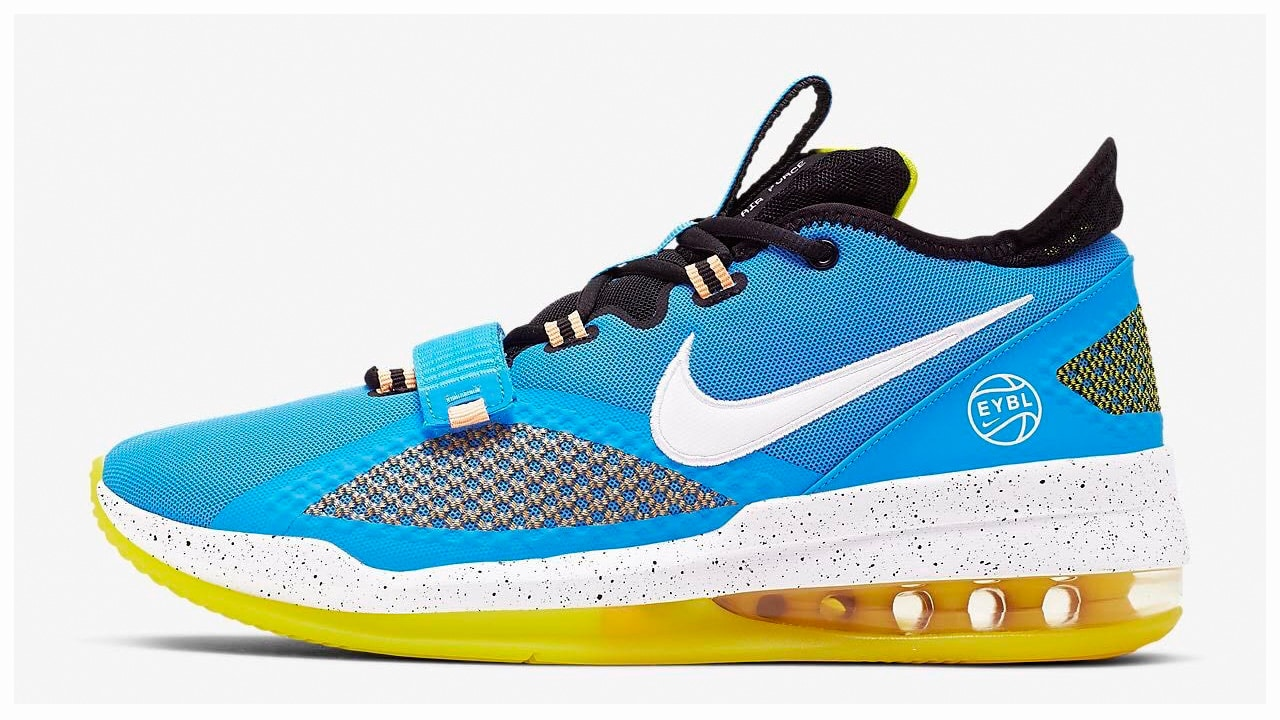 Contable liberal Varios  Nike Air Force Max Low Appears in an EYBL Colorway - WearTesters