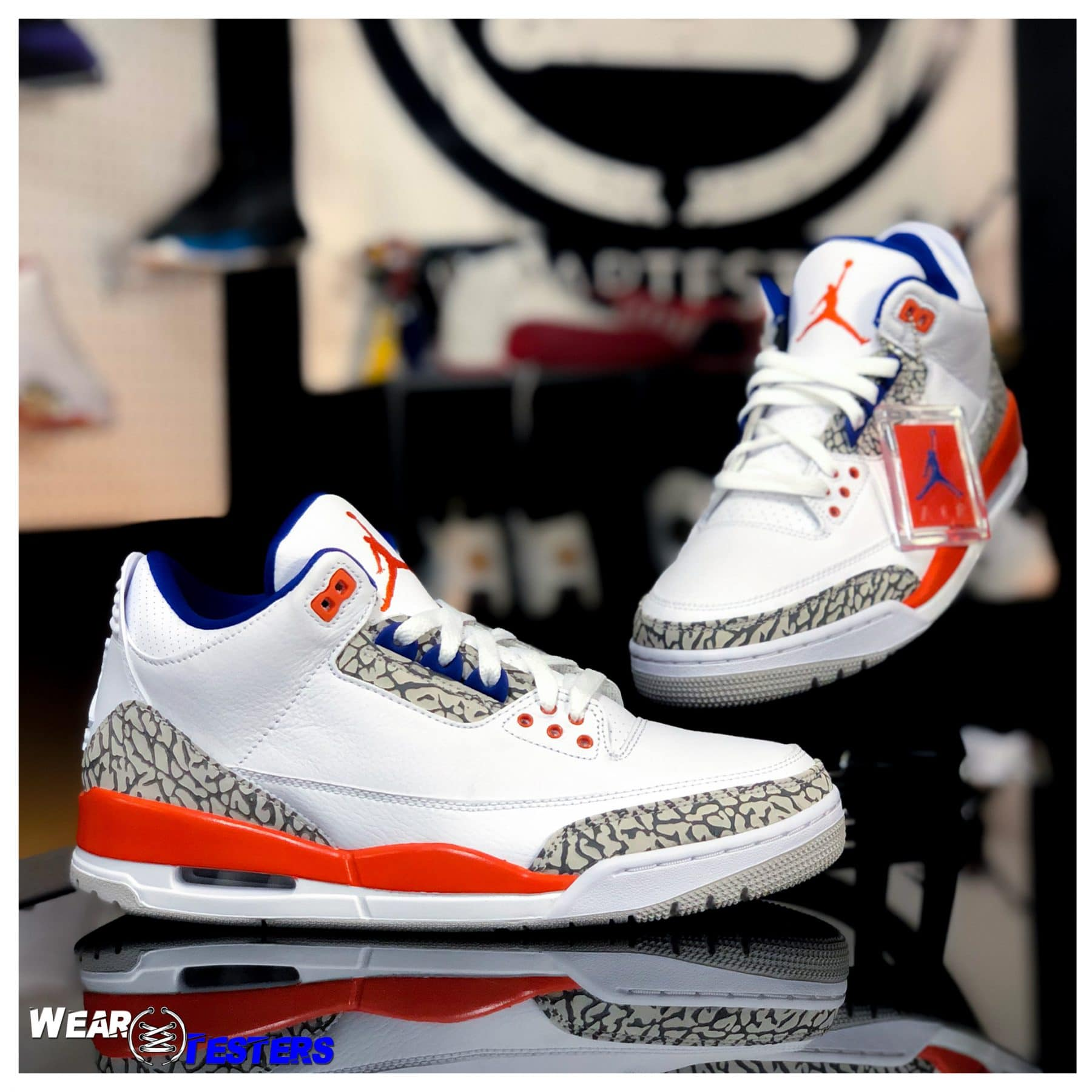 buy online dd56f afb6c Air Jordan 3 'Knicks' | Detailed Look and Review - WearTesters