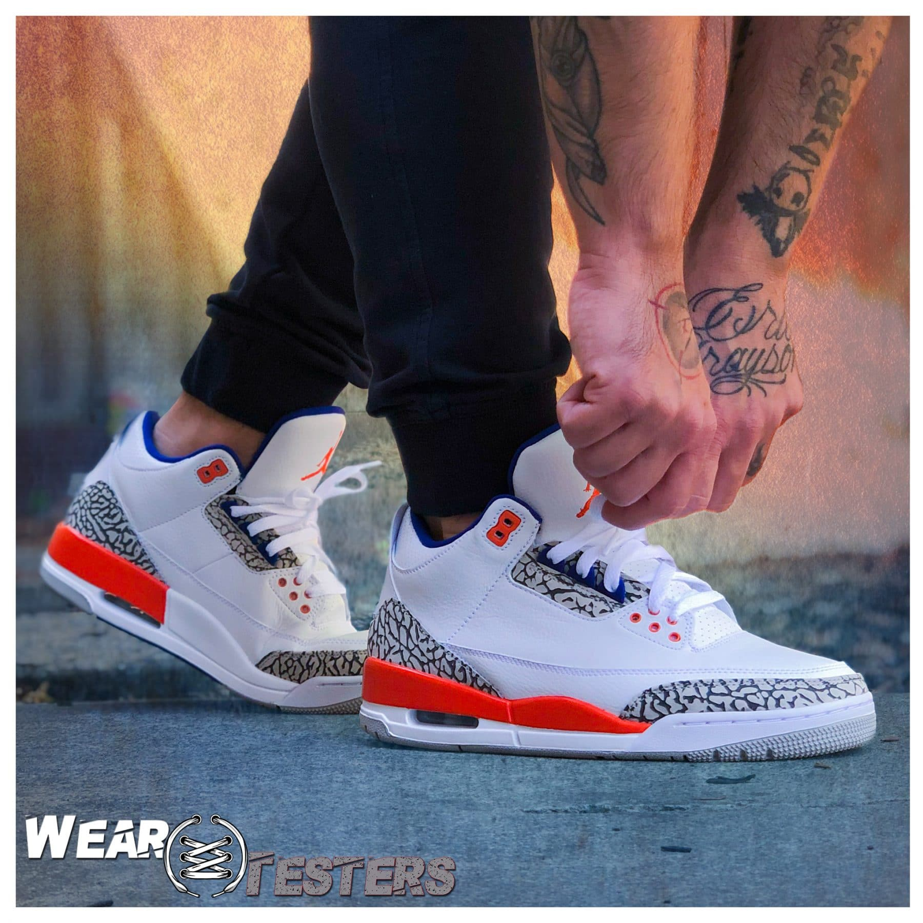 buy online a7796 11784 Air Jordan 3 'Knicks' | Detailed Look and Review - WearTesters