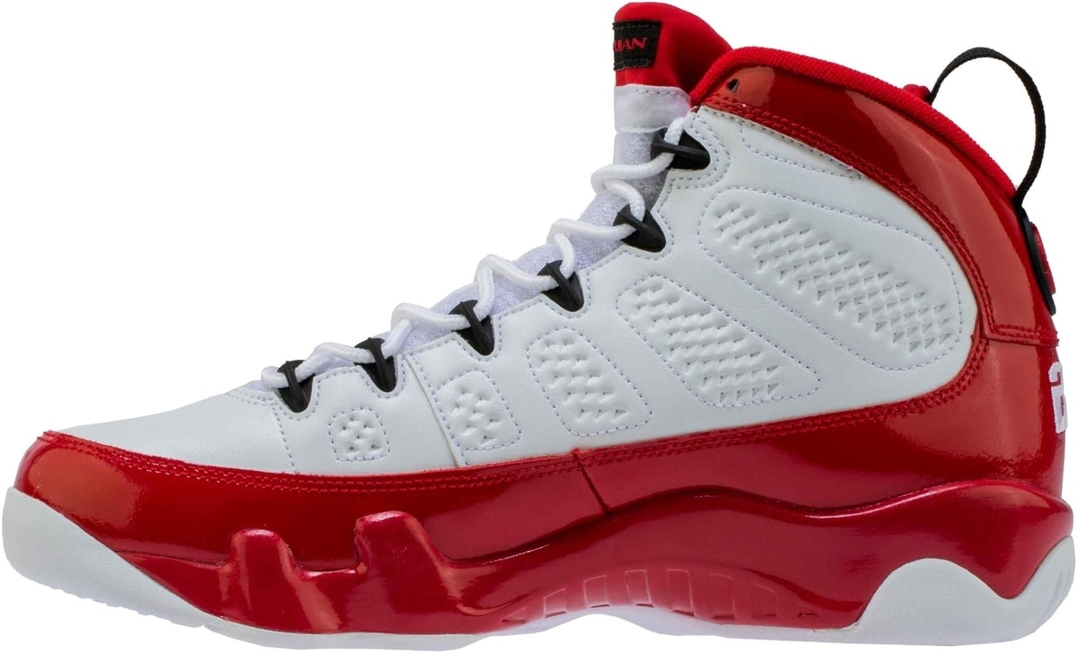 A Detailed Look at the Air Jordan 9 White/Black-Gym Red ...Jordan 9 Black And Red And Silver