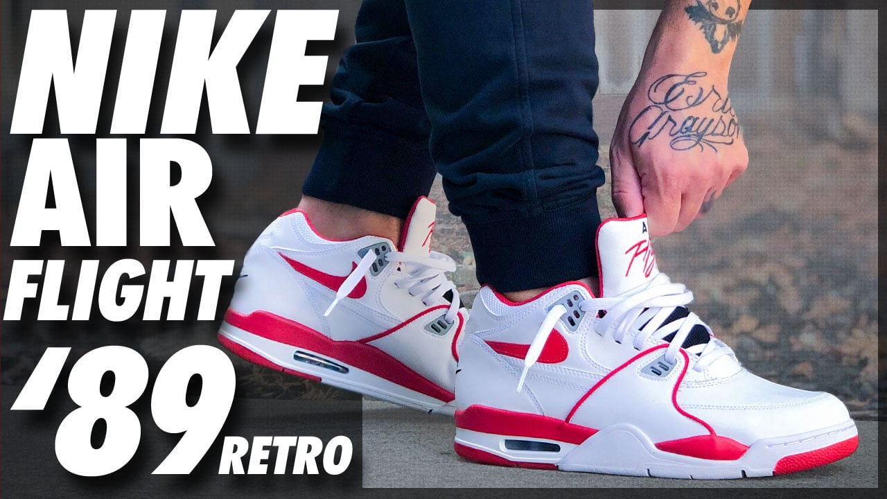 Nike Air Flight '89 2019 Retro | Detailed Look and Review