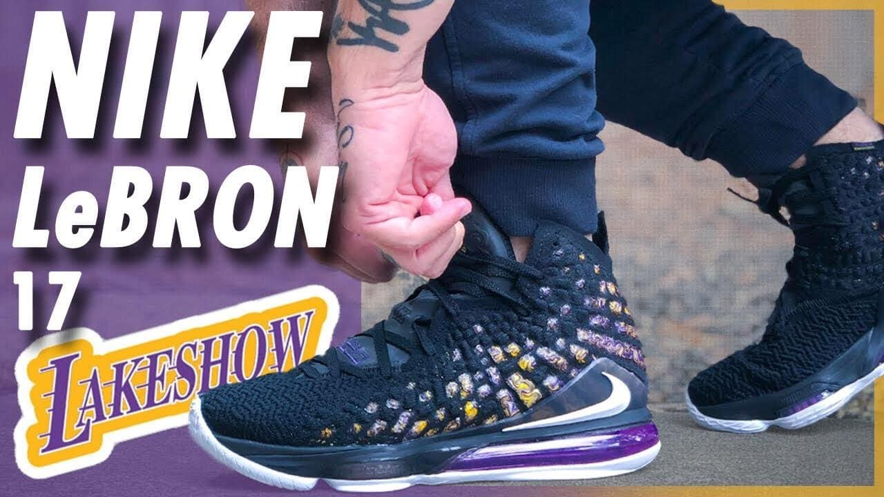 Nike LeBron 17 'Lakeshow'   Detailed Look and Review