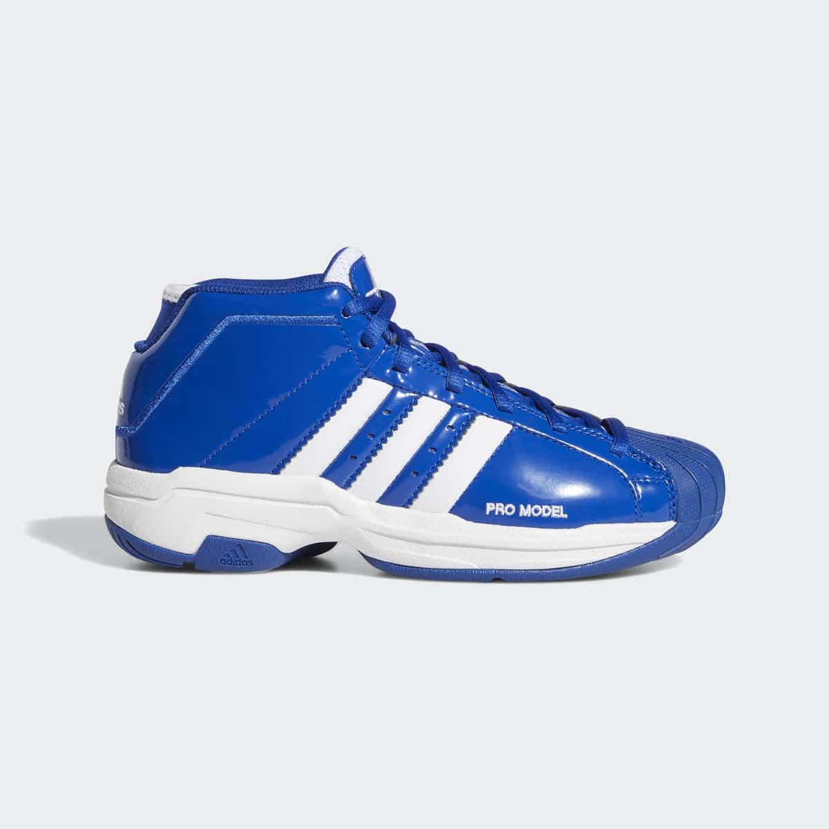 adidas pro model 2G Bounce Blue