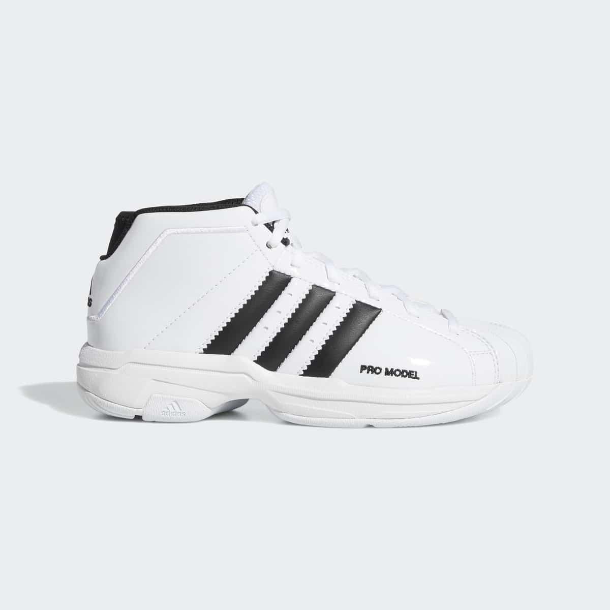 adidas pro model 2G Bounce White