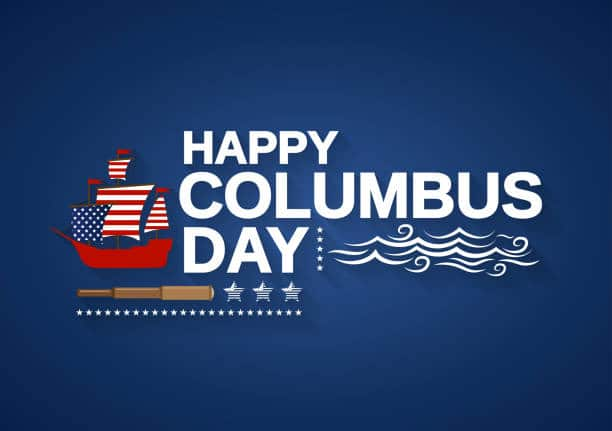 Columbus Day 2019 Deals