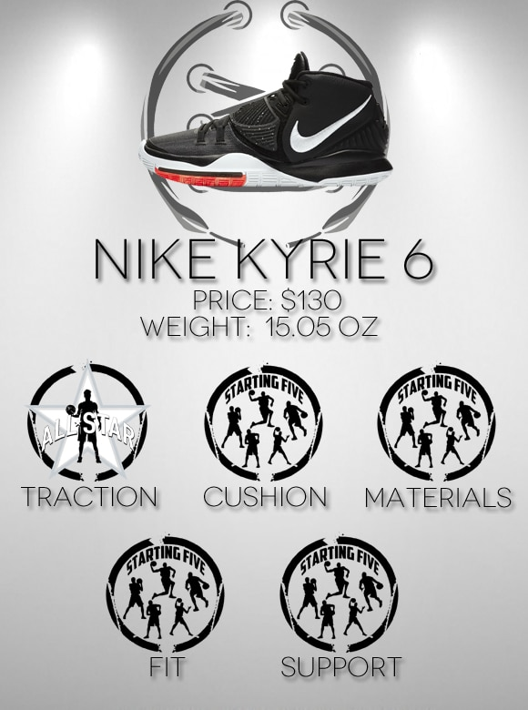 Nike Kyrie 6 Scorecard