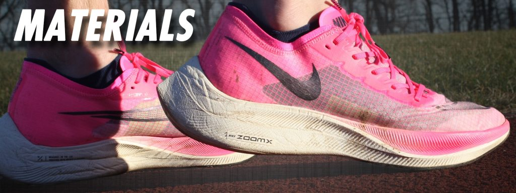 Nike ZoomX Vaporfly NEXT% Materials