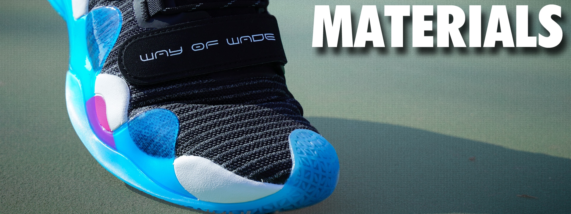 Li-Ning Way of Wade 8 Materials