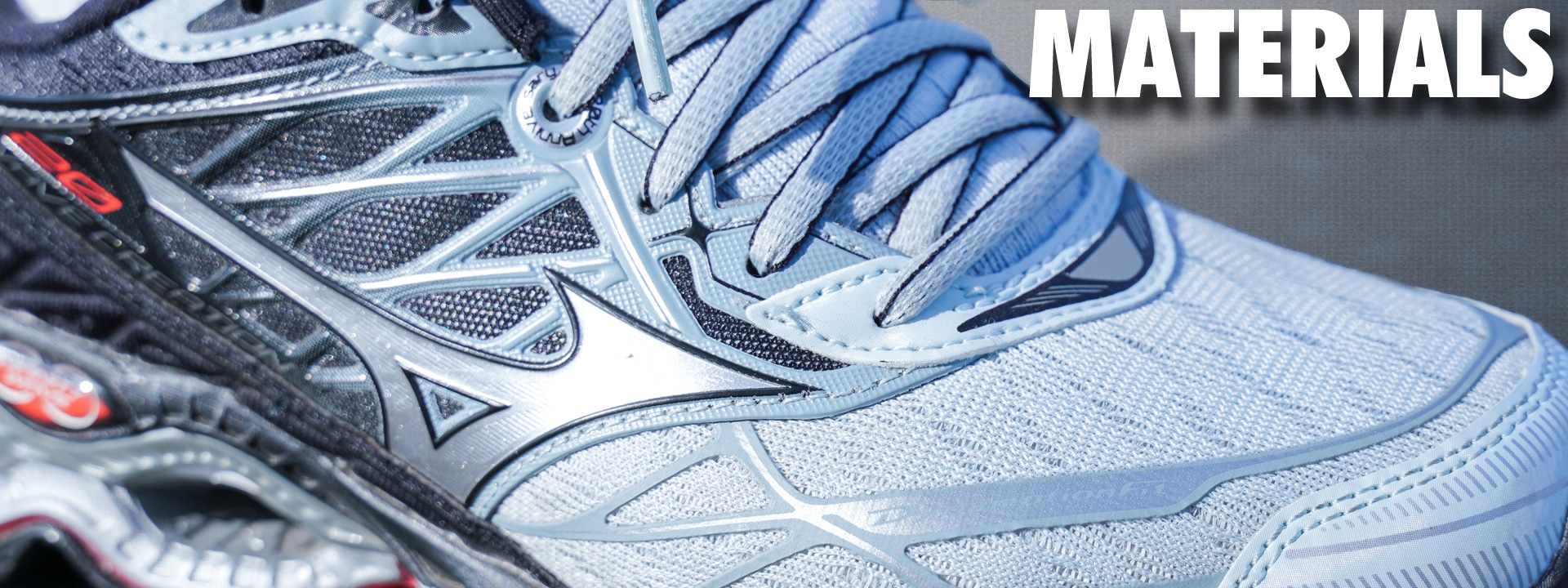 Mizuno Wave Creation 20 Materials