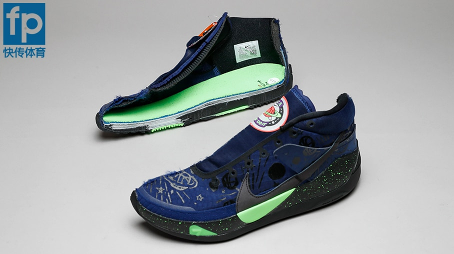KD 13 deconstruction open shoe