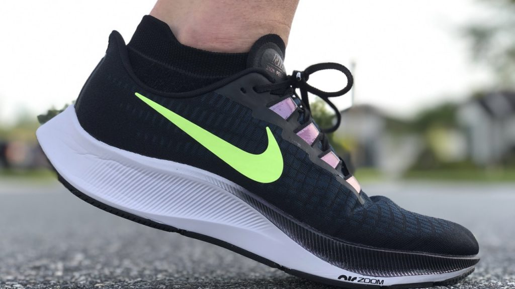 Nike Pegasus 37 stepping