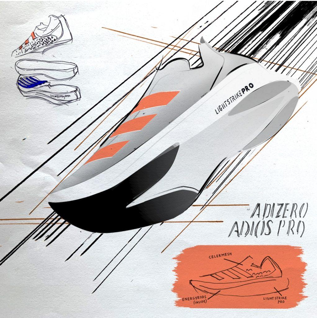 adidas adizero Adios Pro Sketch