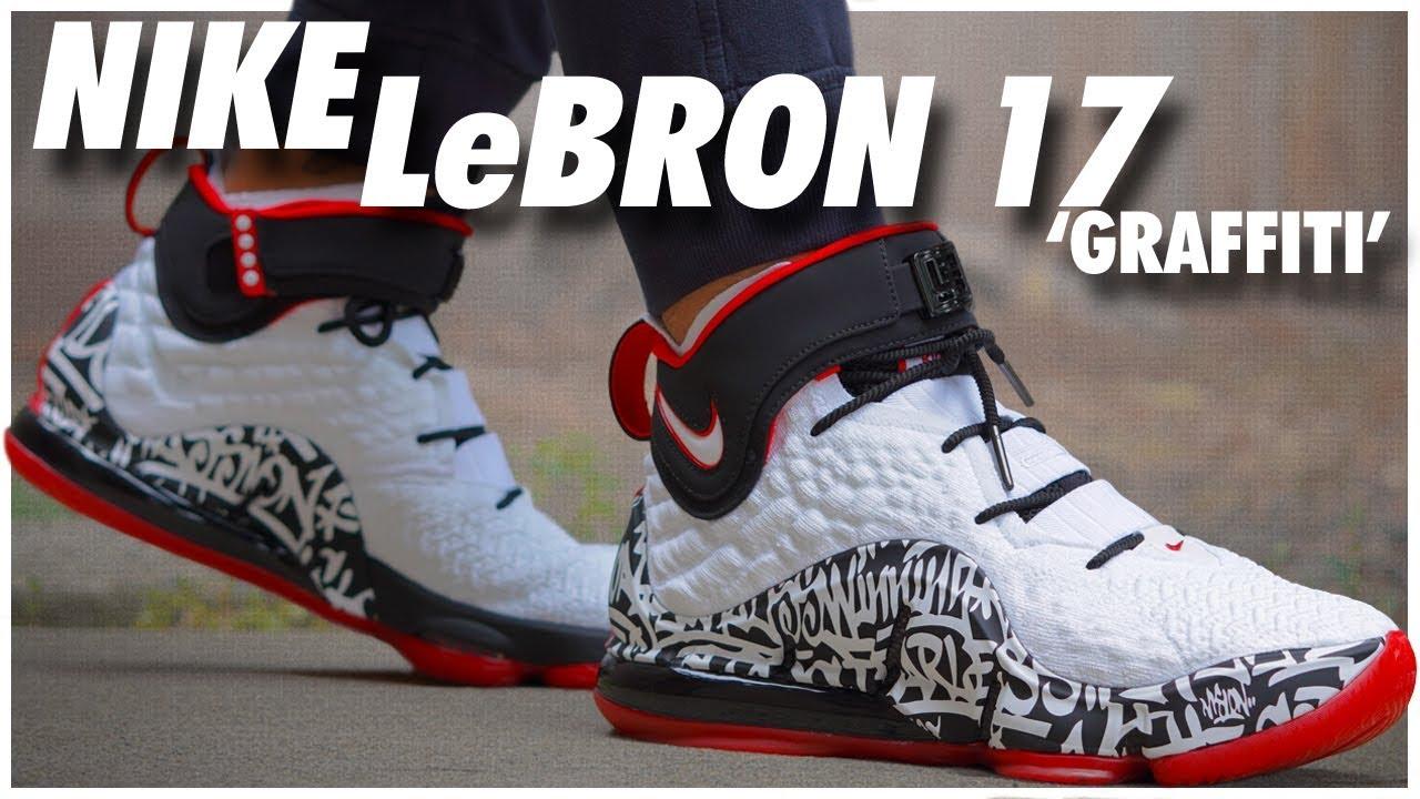 Nike LeBron 17 Grafitti
