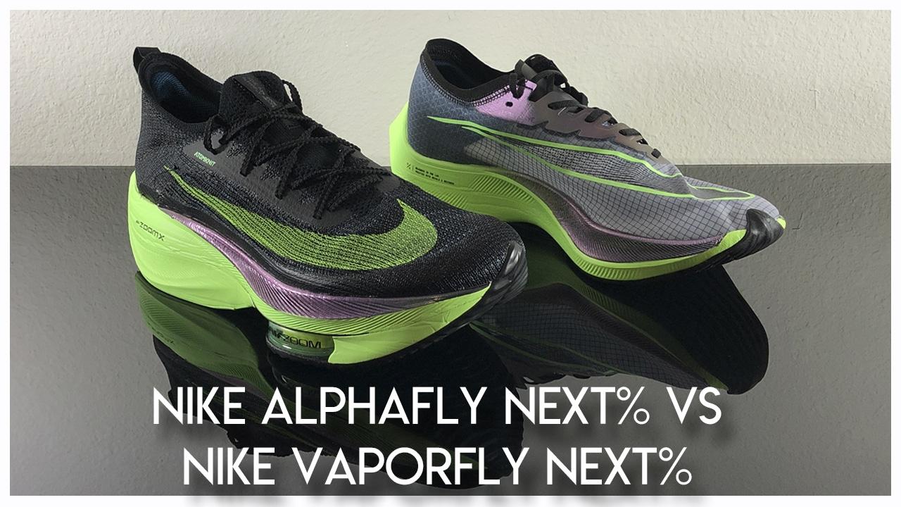 Nike Alphafly Next Vs Vaporfly Next Weartesters