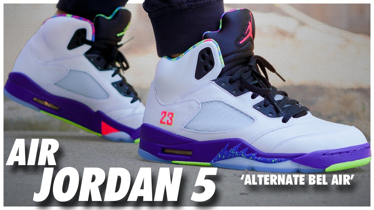Air Jordan 5 Alternate Bel Air