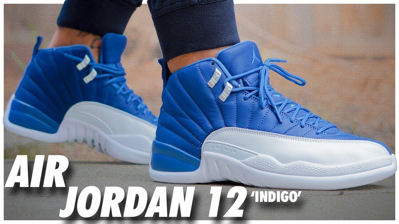 Air Jordan 12 Indigo