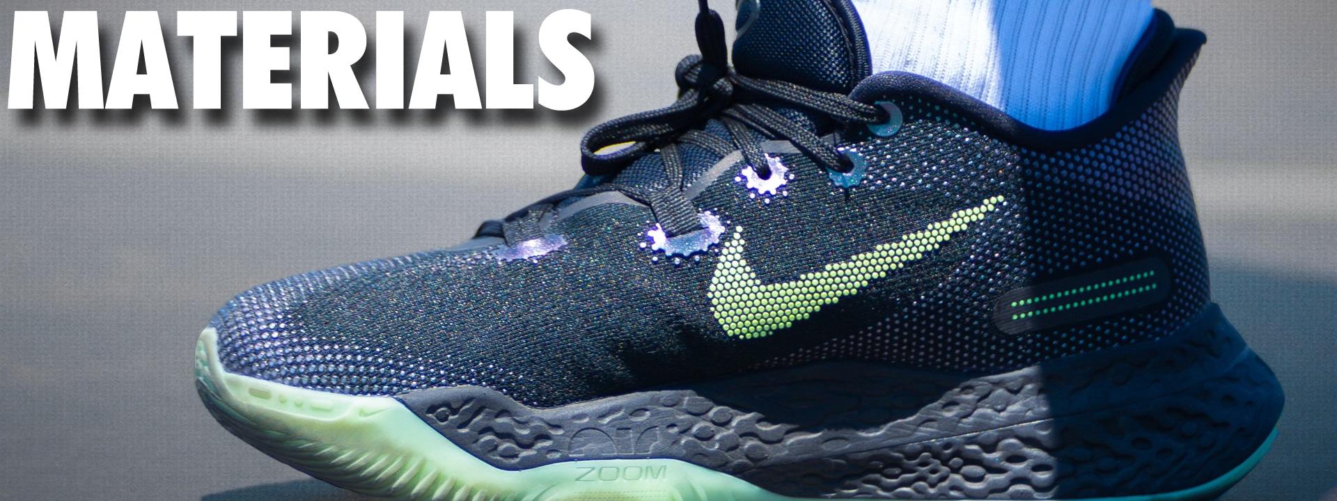 Nike Zoom BB NXT Materials