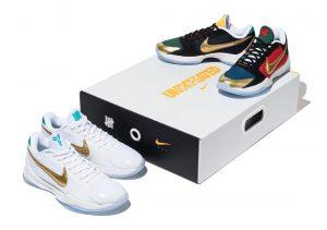 Nike Kobe V protro UNDEFEATED mamba week package