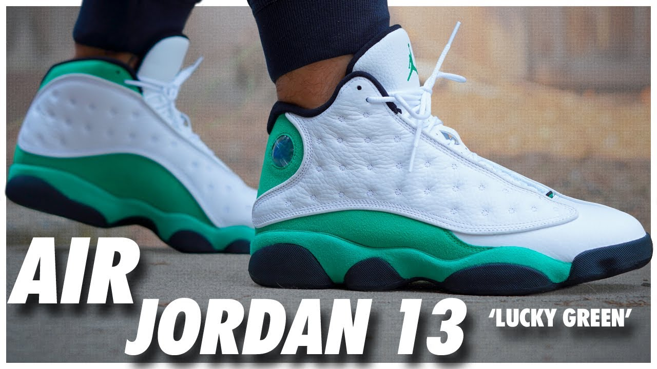 Air Jordan 13 Lucky Green