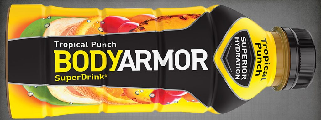 Best Sports Drink - Bodyarmor Tropical Punch