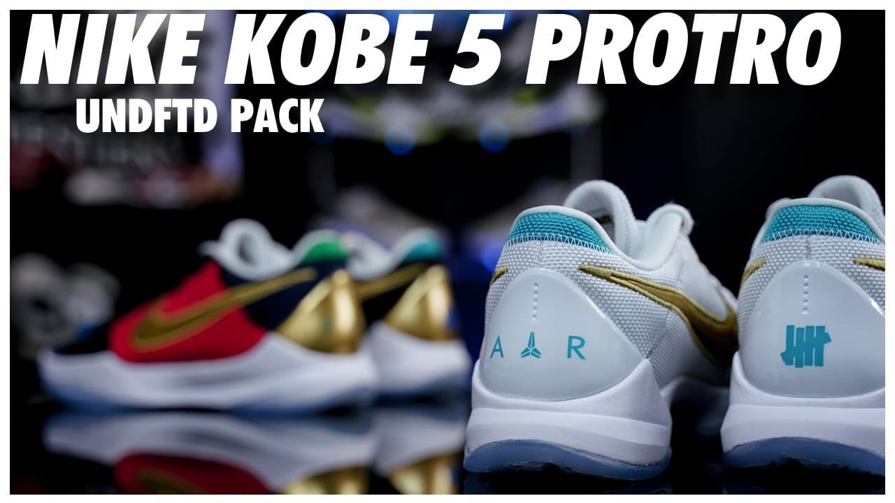 Kobe 5 Protro Undefeated