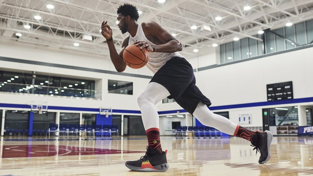 UA Embiid One Eastbay Poster