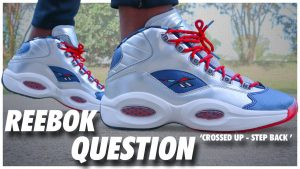 Reebok Question Crossed Up Step Back