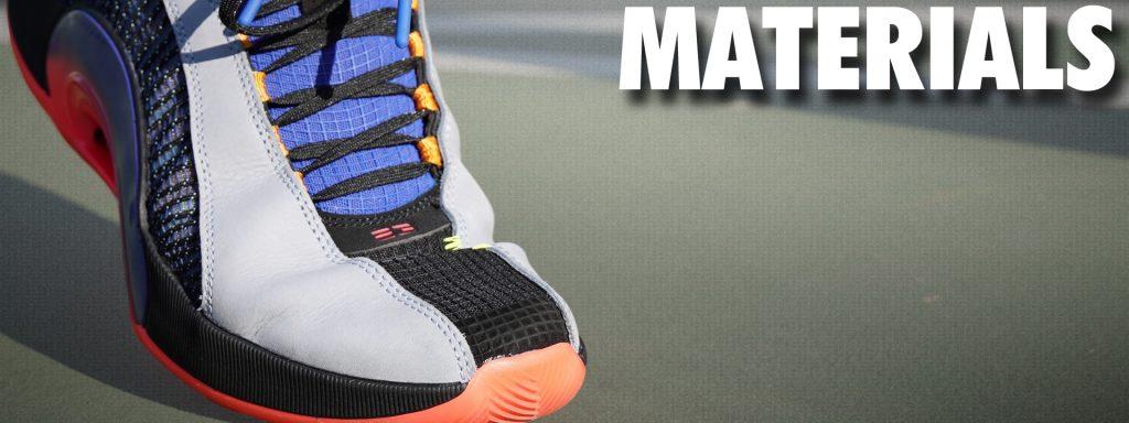 Jordan 35 Materials