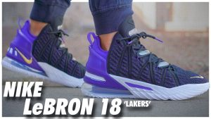 Nike LeBron 18 Lakers