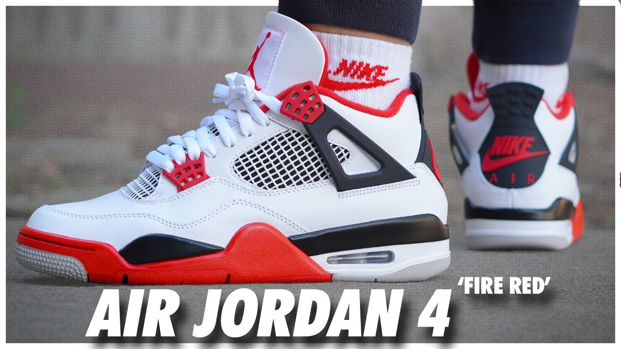 Air Jordan 4 Fire Red 2020 - WearTesters