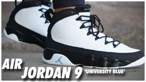 Air Jordan 9 University Blue
