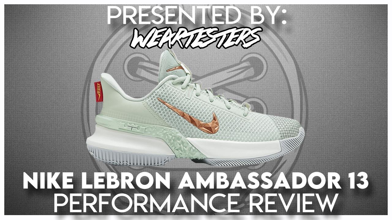 Nike Lebron Ambassador 13 review
