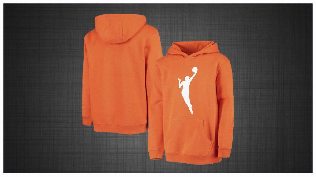 WNBA Hoodie Orange